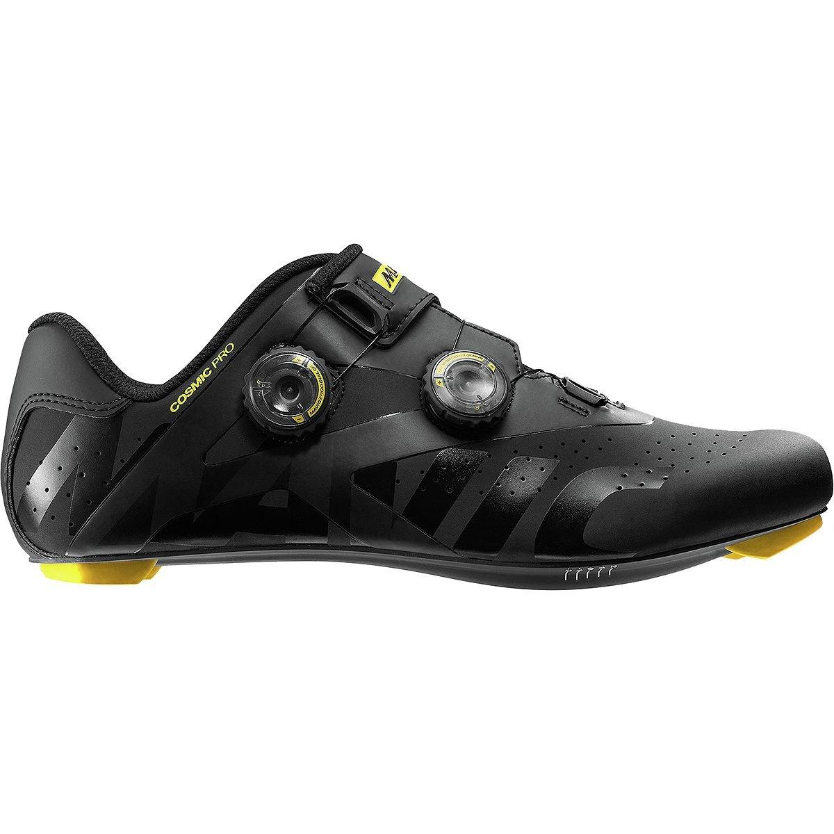 Mavic Cosmic Pro Pro Pro Rennrad Fahrrad Schuhe schwarz gelb 2019 72ffed