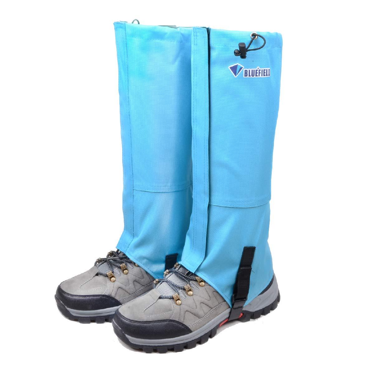 TRIWONDER Ghette da Neve Ghette Impermeabili da Trekking Running Caccia Montagna Escursionismo Corsa per Uomo Donna Ghette Antipioggia per Scarpe