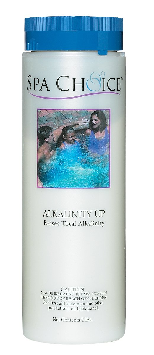 Spa Choice 472-3-4021 Alkalinity Up Hot Tub Chemical for Spas, 2-Pound