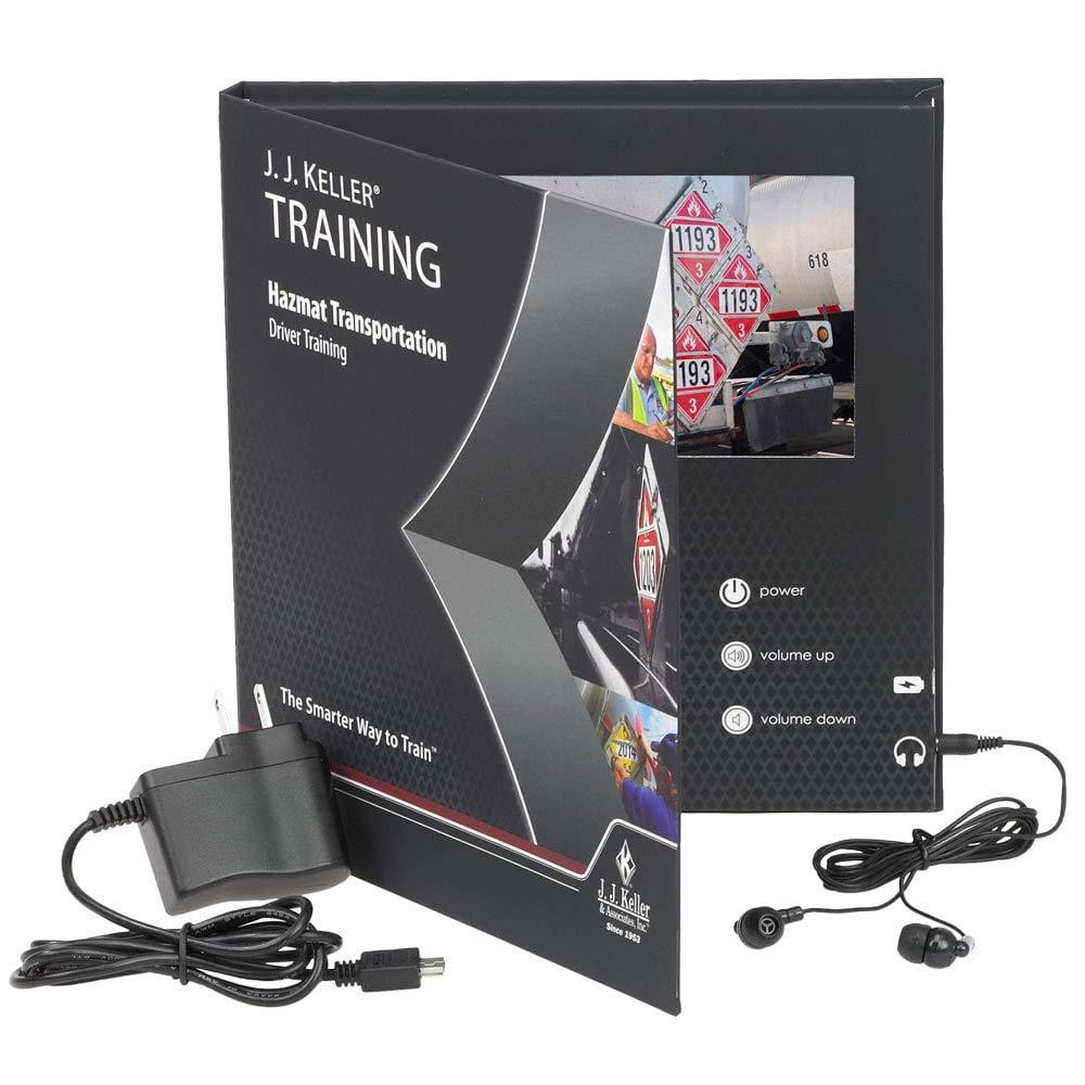 Hazmat Transportation: Driver Training – Video Training Book J. J. Keller & Associates