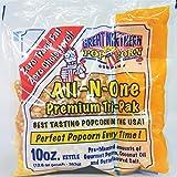 4113 Great Northern Popcorn Premium 10 Ounce Popcorn Portion Packs Cinema, Case of 24