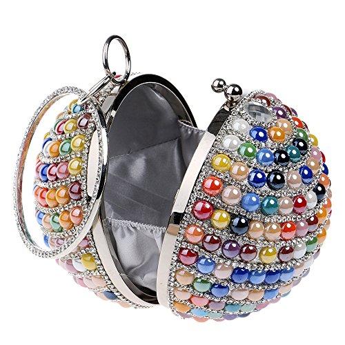 Sac Sac Partie BandoulièRe à Prom à SoiréE Pochettes Mesdames Sac Ball Diamant GODW Main Red Mariage Clutches De Wa7Pwq8a6x
