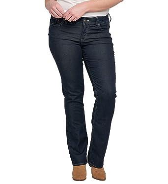 dfb0c79506ab Silver Jeans Co. Women's Plus Size Suki Mid Rise Slim Contour Bootcut Jean,  Rinse