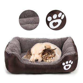 Vandot Cómodo Casa para Mascotas, Cama para Perros Perrera Gato del Perro de Perrito Sofa House ...