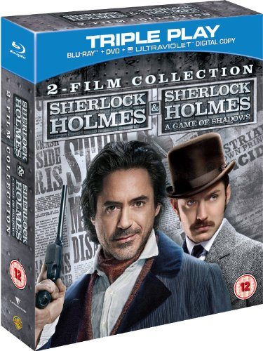 Triple Play Collection (The Sherlock Holmes Collection - Triple Play Blu-ray UK Import)