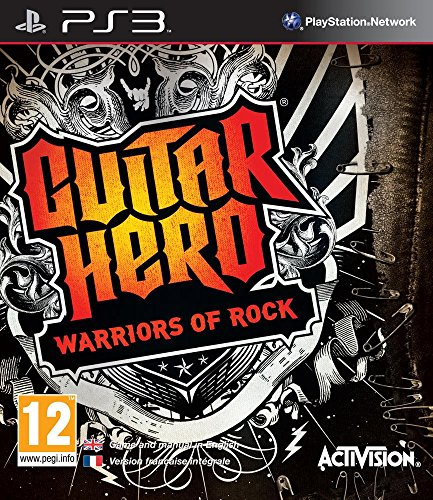 Guitar Hero 6: Warriors of Rock - game only - PS3
