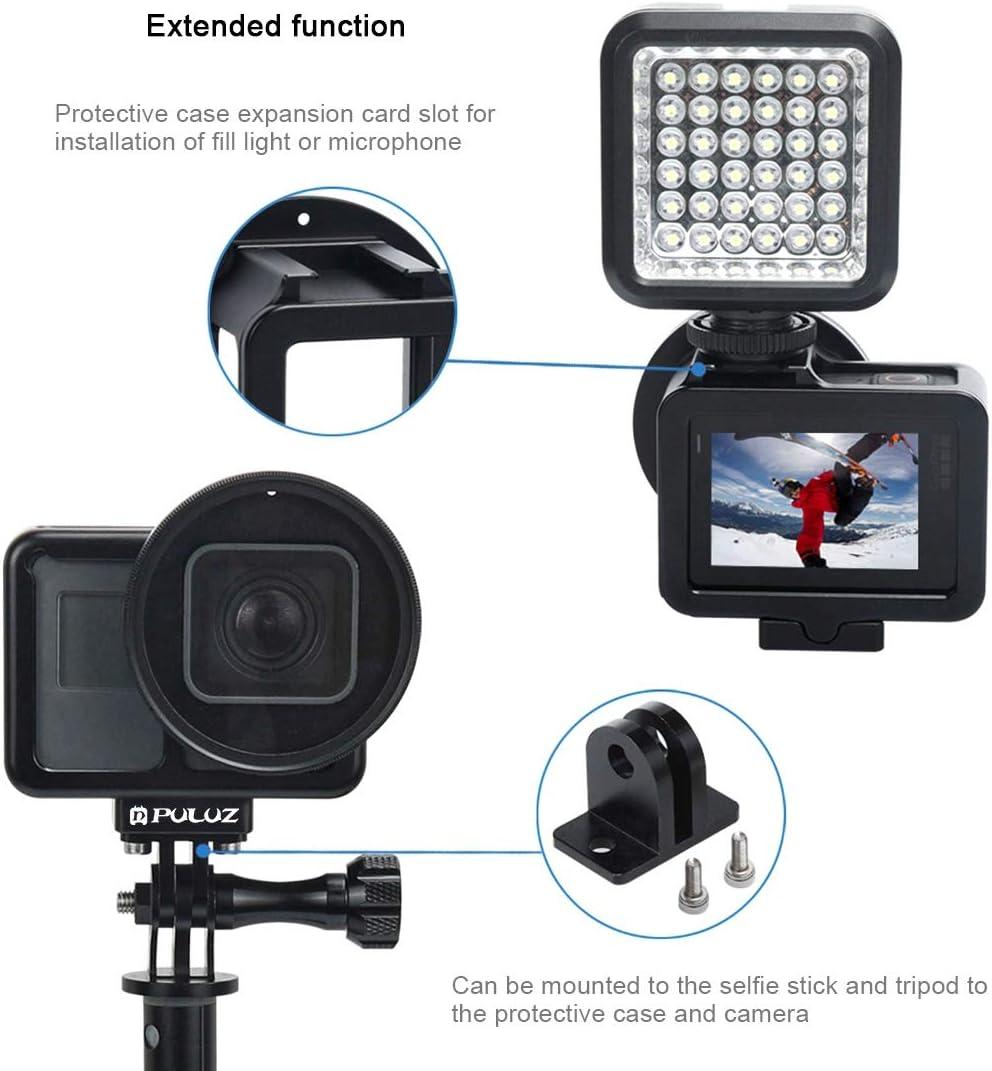 Puluz Aluminium Hülle Für Gopro Hero 7 Schwarz New Hero Kamera