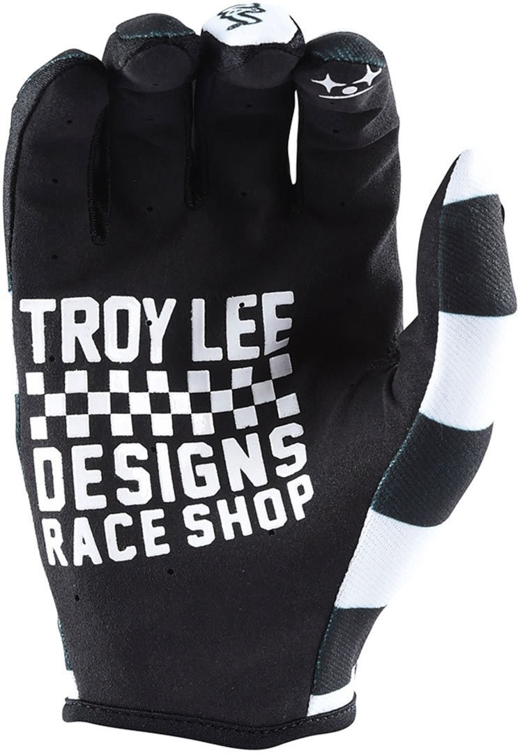 Troy Lee Designs Guantes Mx 2018 Air Negro-Blanco S, Negro