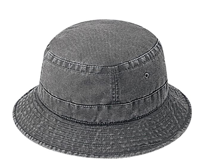 f685adfbbf7 Dustin clothing series New Mens Washed Bucket Hat Hats Cap Caps Fisherman s  Hunting Hiking Beach Wear at Amazon Men s Clothing store