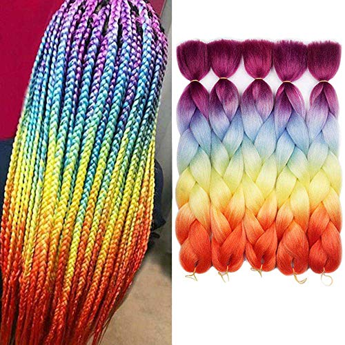 AIDUSA Kanekalon Synthetic Braiding Extensions product image