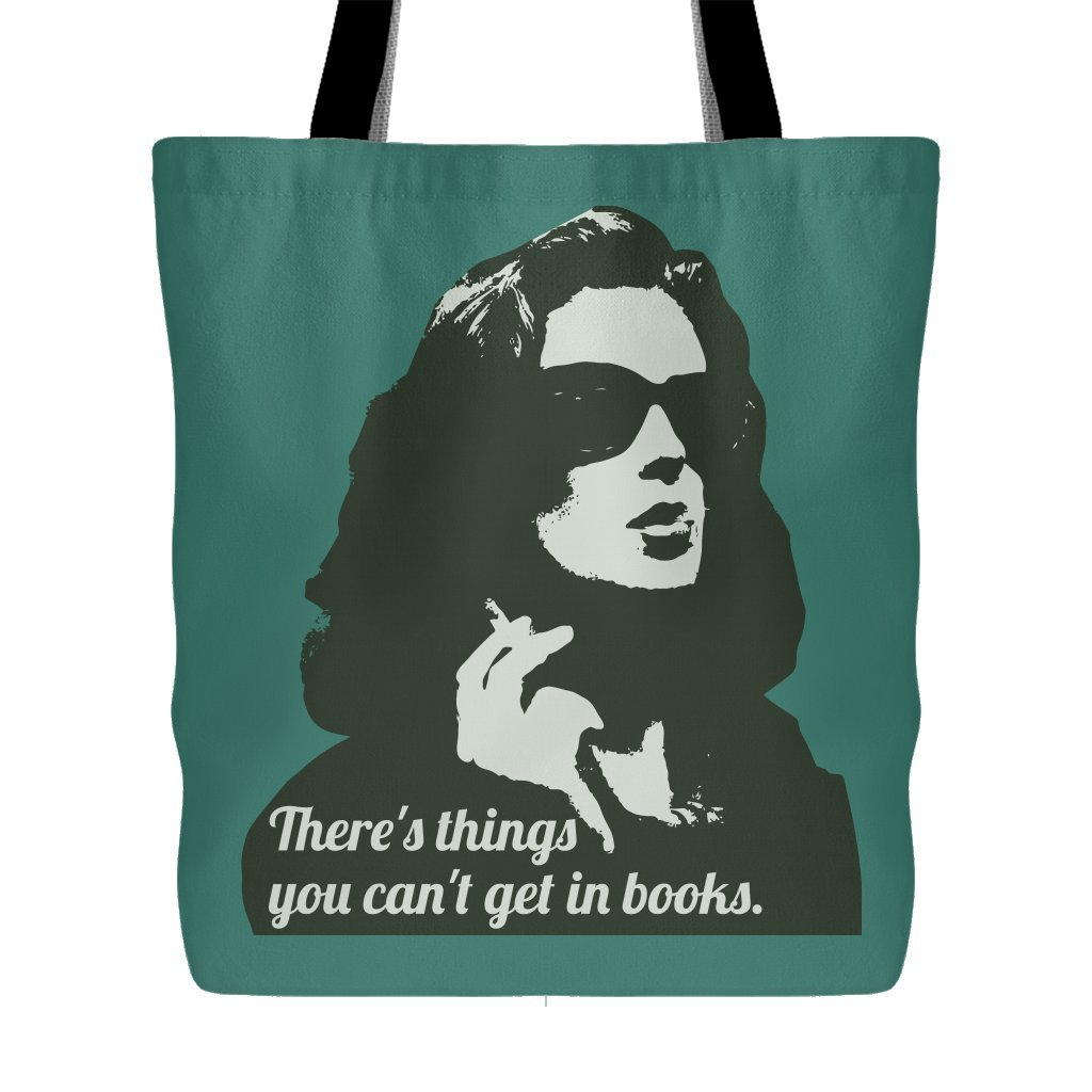 Twin Peaks - Donna Hayward - There's Things You Can't Get In Books Tote Bag