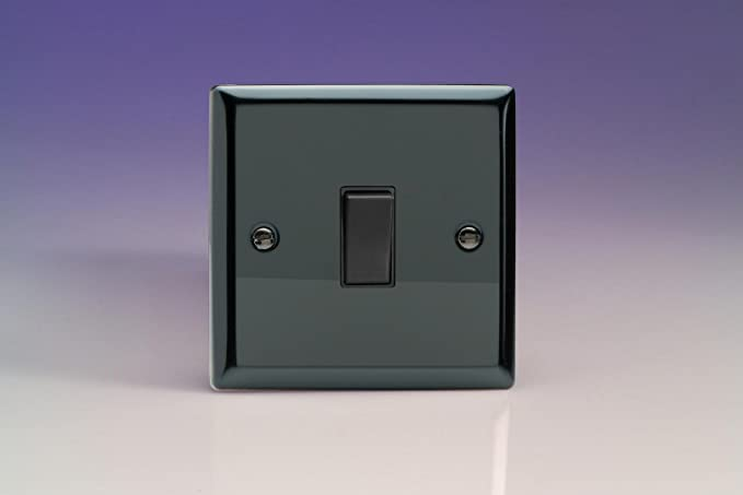 Wondrous Varilight 1G 10A Retractive Switch Bell Switch Iridium Black Wiring 101 Tzicihahutechinfo