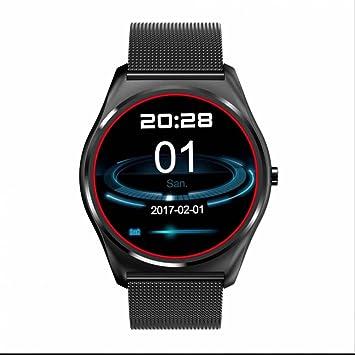 Elegante reloj inteligente alerta Vibra sedentario recuerdan reloj inteligente remoto tomando foto función reloj deportivo para