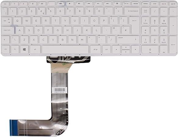 Teclado Blanco de Repuesto para HP 15-P189SA, 15-P 156NA, 15 ...