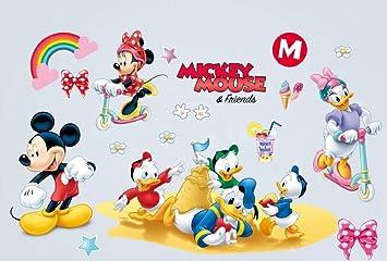 Kibi Wandtattoo Mickey Mouse Wandtattoo Mickey und Minnie ...