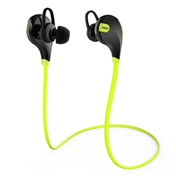 AUKEY® Auriculares estéreo con Bluetooth 4.1 para hacer deporte, Earphone Bluetooth,