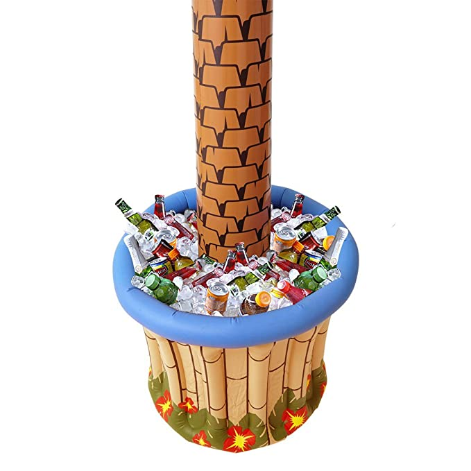 NET TOYS Palmera inflable para fiestas isla palmas divertido ...