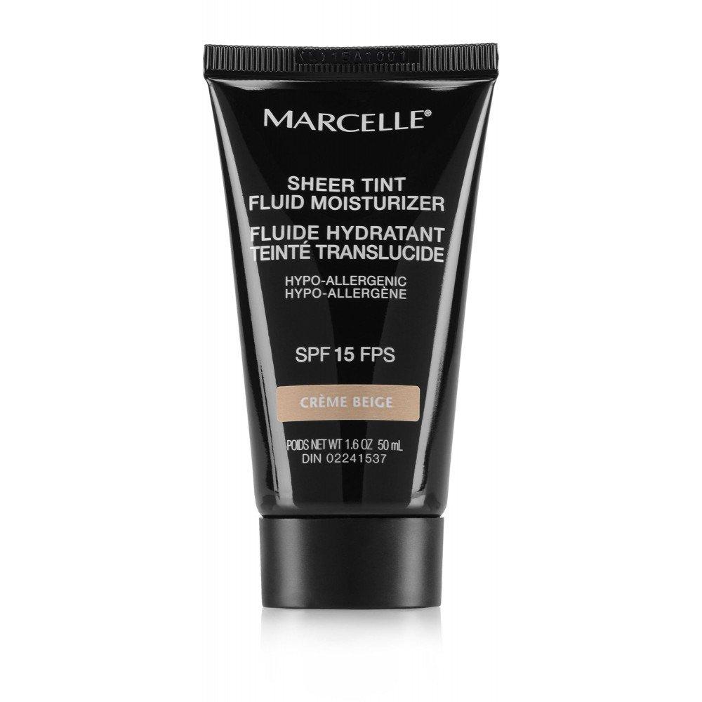 Marcelle Sheer Tint Fluid Moisturizer SPF 15 - Bronze Soleil Hypoallergenic Fragrance-Free 68 Gram