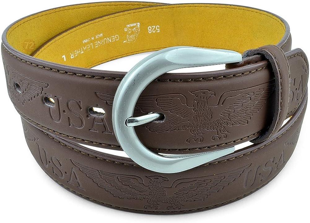 Jean Dress Belt With Buckle Desginer Inspired Moda Di Raza-Men Leather Belt