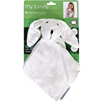Inspired Mother My Luvvie Bamboo Muslin Rabbit Cuddle Toy, White