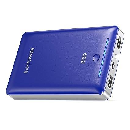 Amazon.com: Paquete de batería externa RAVPower 16750mAh ...