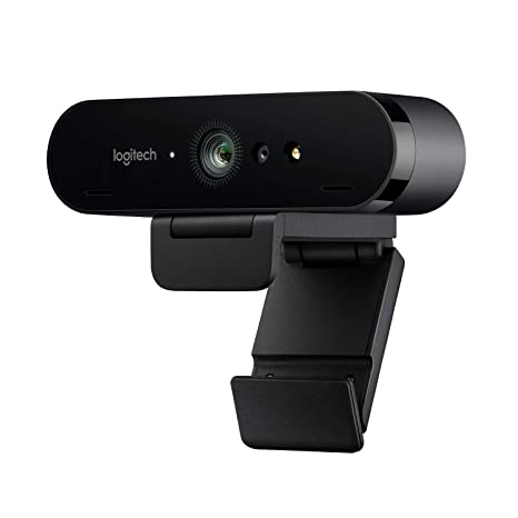 Logitech Brio Webcam Ultra Hd 4k Per Streaming Videoconferenze E