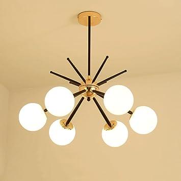 Neixy - Lustre moderne Lighting-6/8 lumières Vintage Edison Multiple ...