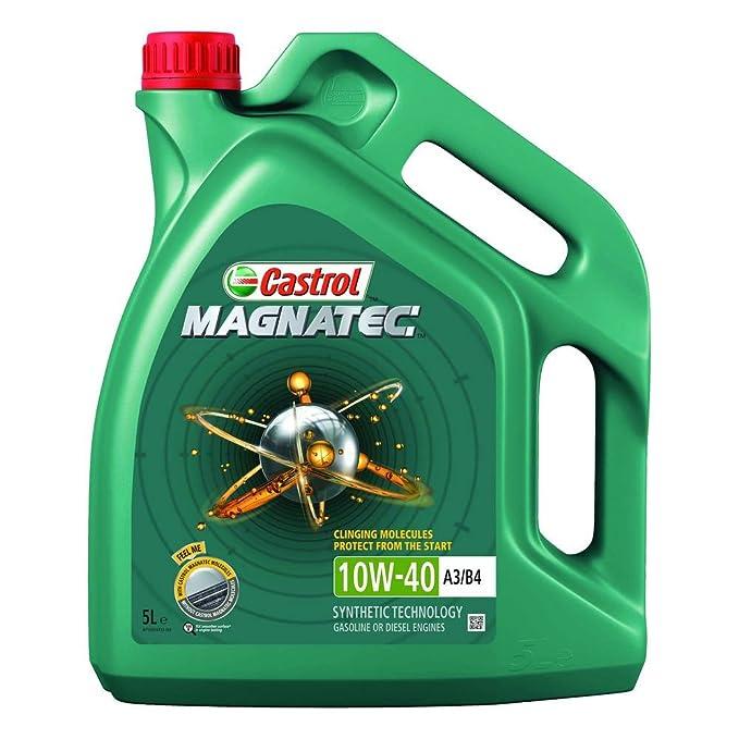 Castrol MAGNATEC 10W-40 Aceite de motor A3/B4, 5L (Sello inglés): Amazon.es: Coche y moto
