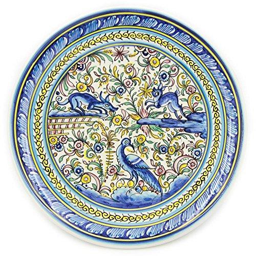 Madeira House Coimbra Ceramics Hand-painted Hanging Decorative Plate XVII Cent Recreation #122-1700