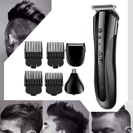 3 en 1 Maquina Cortar Pelo Afeitadora Corporal inalámbrica para hombres, Cortapelos Profesional Hombre, Cortador Pelo Cortadora de Pelo Recargable Máquina Afeitar Recortadora de Barba: Amazon.es: Belleza