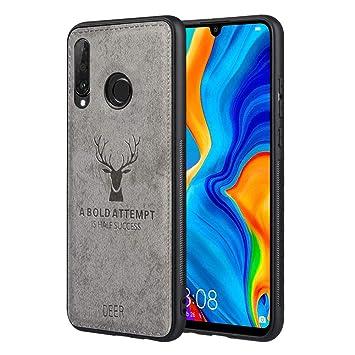 JiatuA Funda Huawei P30 Lite, Carcasa Movil Huawei P30 Lite Funda Blanda a Prueba de Golpes Funda de TPU Carcasa para Teléfono Inteligente Huawei P30 ...