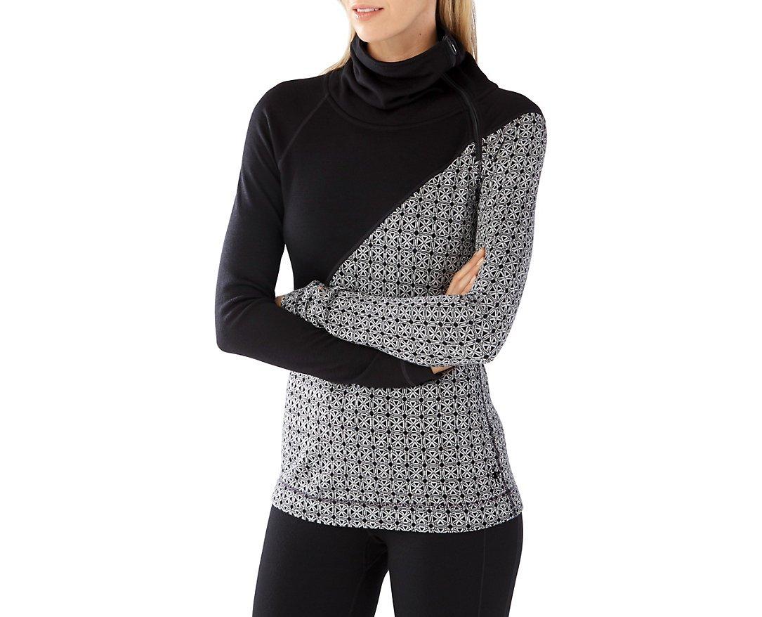 Smartwool Women's Merino 250 Asym Top (Black) X-Large