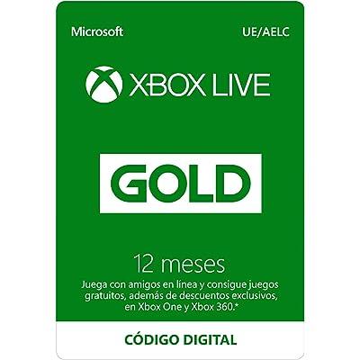 Suscripción Xbox Live Gold - 12 Meses | Xbox Live - Código de descarga