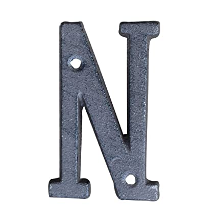 fa60f4c95f8 3 Inch Innovative DIY Wrought Iron House Number