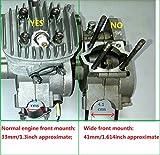 CDHPOWER Black Universal Motor Mount for Gas