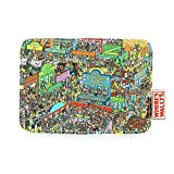 Where's Wally Pass Travel Card Case Retro Design Travel Oyster Bus Card Holder