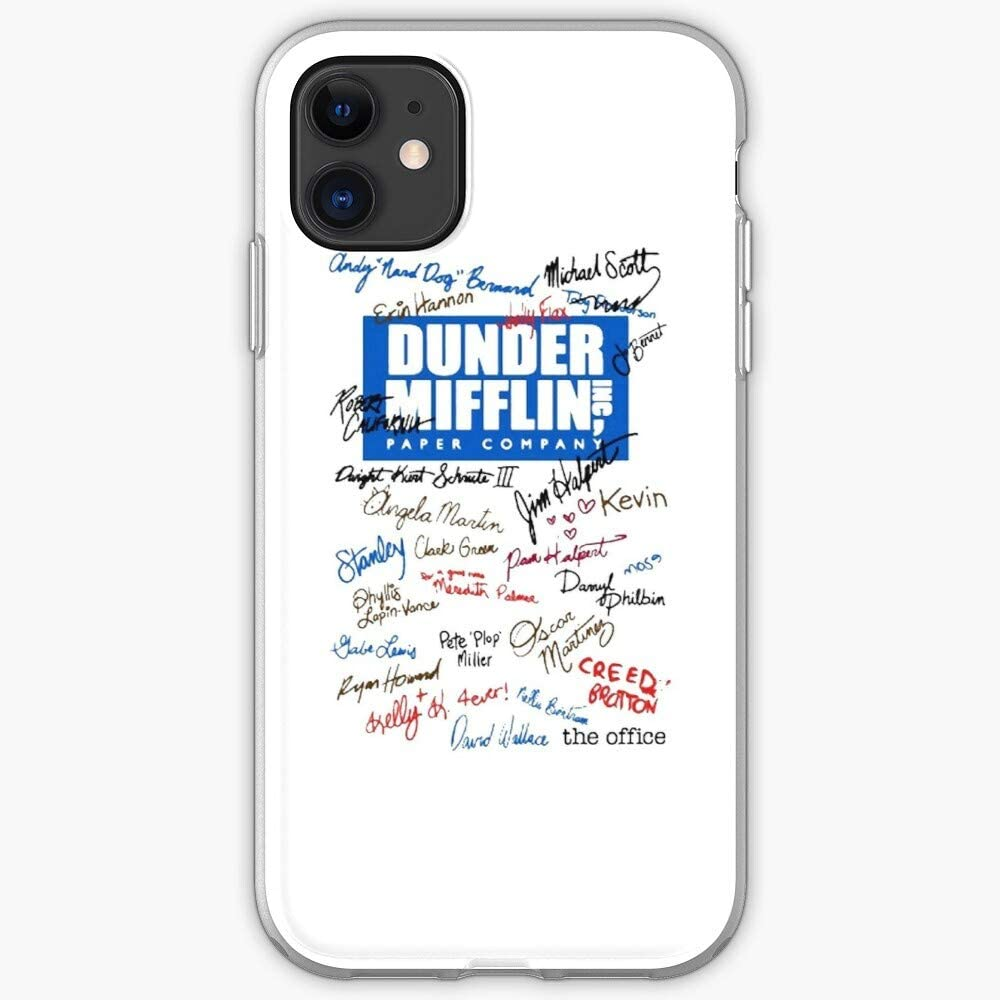 Office Scott Show Scranton Dunder The Tv Straight Compton Michael Outta Dwight Mifflin - Phone Case for iPhone 11, iPhone 11 Pro, iPhone XR, iPhone 7/8/SE 2020, Samsung Galaxy