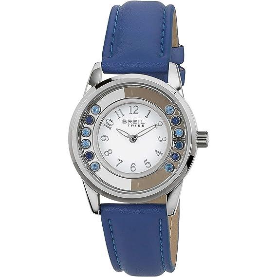 Reloj mujer acero Moon River Azul Tribe BREIL