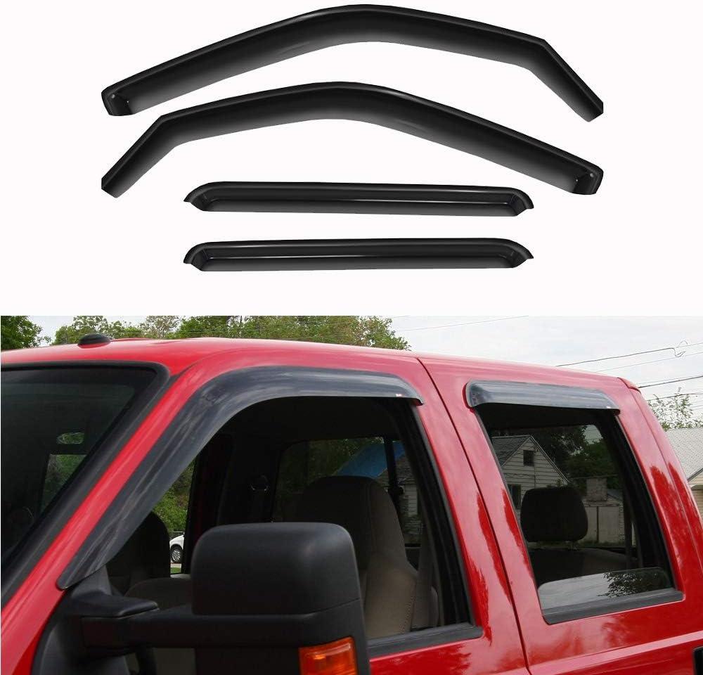 Window Visors Rain Guard Volkswagen Beetle 1998-2003 2004 2005 2006 2007 2008