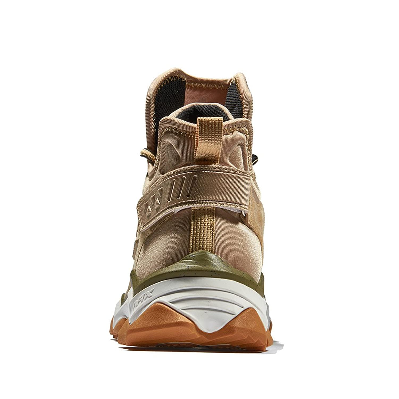 Rax Chaussures Montantes Pour Homme - Beige - Kaki Clair cLtfBh3vM,