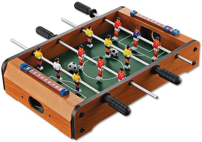 Mesa de futbolín Mini futbolín de mesa de juegos portátil de mano de recreo de fútbol Mesa de futbolín juegos de competición de fútbol de mesa juego de fútbol for adultos y