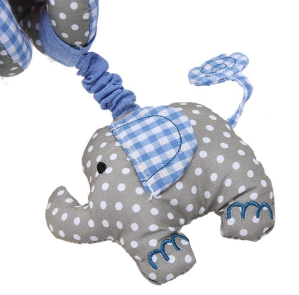 Abeille Beauty DIY Mart Jouet Spiral et Suspendu Autour du lit ou de la Poussette pour Les b/éb/és Jouet en Peluche Qui avec limage Mignon pour Les Petits Enfants