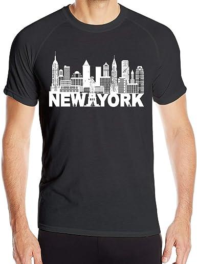 Camiseta de Manga Corta para Hombre de New York City