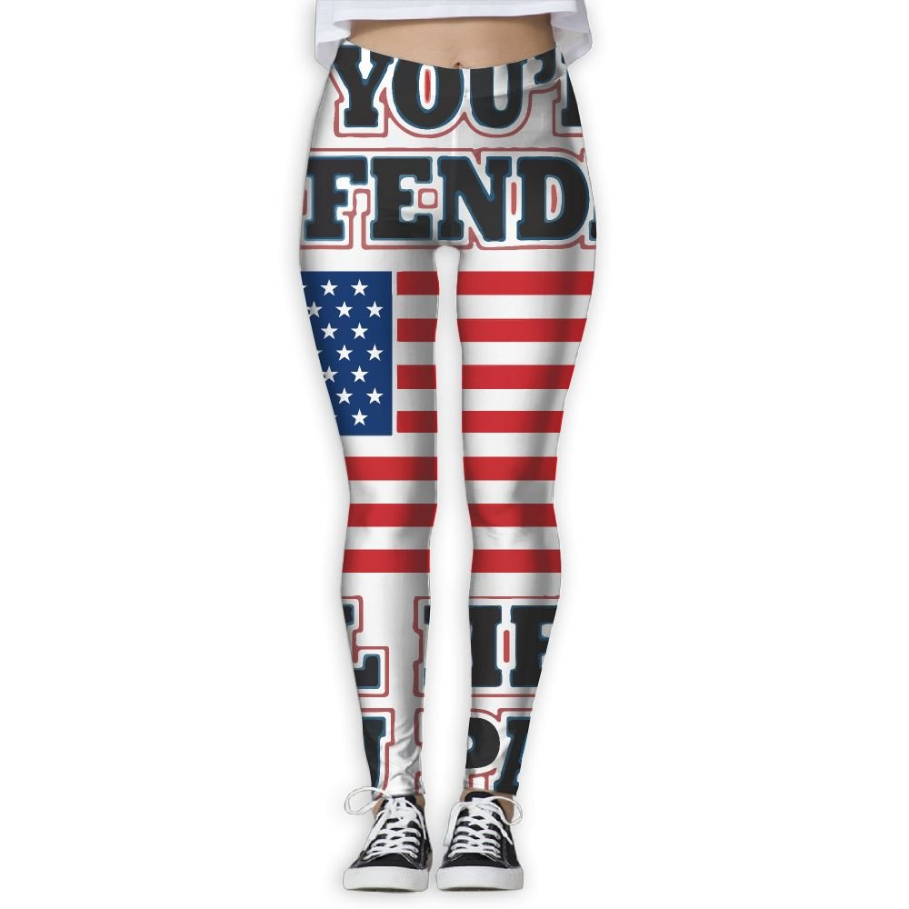 Amazon.com: EWDVqqq Women/Girl Yoga Pant If Youre Offended ...
