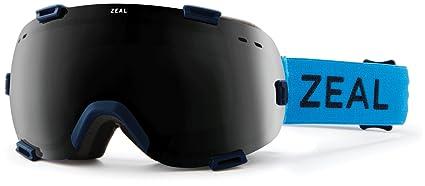 d64268c97d24 Amazon.com   Zeal Optics Unisex Voyager Azure W  Dark Grey Lens One ...