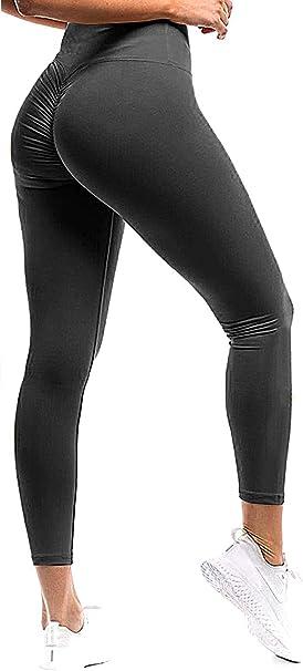Amazon.com: Seasum - Leggings para mujer, con trasero ...