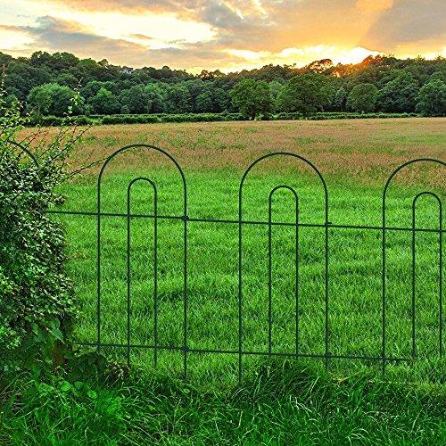 Amagabeli Decorative Garden Fence 32 In X 20 Ft Rustproof