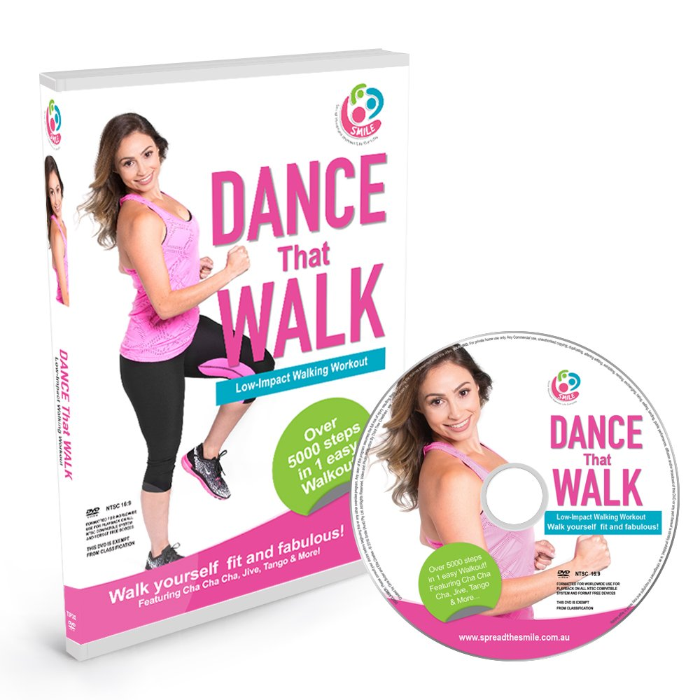 DANCE That WALK – 5000 Steps in One Easy Low Impact Walking Workout DVD