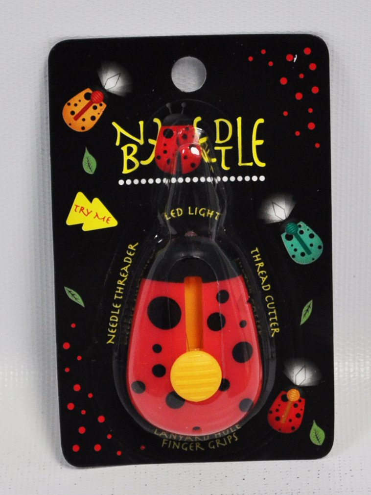 Needle Beetle Needle Threader LED Light Red N4236 Sewgroup