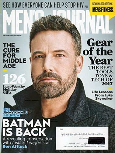 THE JIMMY KIMMEL INTERVIEW Men's Journal 2017 BATMAN IS BACK: A REVEALING CONVERSATION WITH JUSTICE LEAGUE STAR BEN AFFLECK The Cure For Middle Age LIFE LESSONS FROM LUKE - Gear Of Outside 2017 The Year Magazine